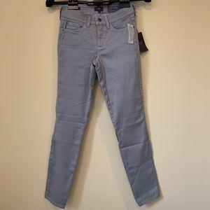NYDJ Alina Gray Leggings Slimming Fit Jeans